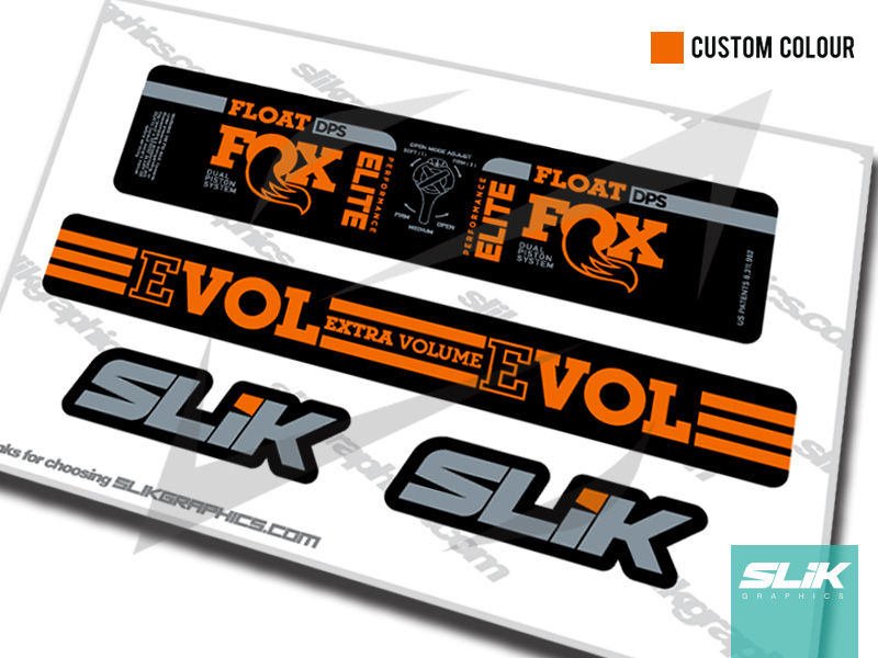 Fox Float DPS Performance Elite 2018 Style Shock Decals - product images  of