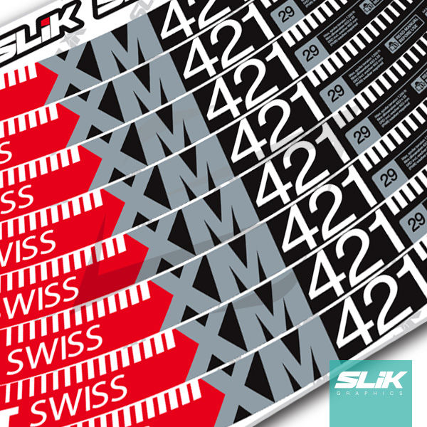 DT Swiss XM 421 Style Decal Kit - product images  of