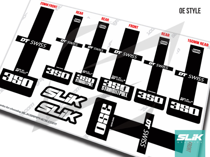 DT Swiss 350 Hub Decal Kit - product images  of