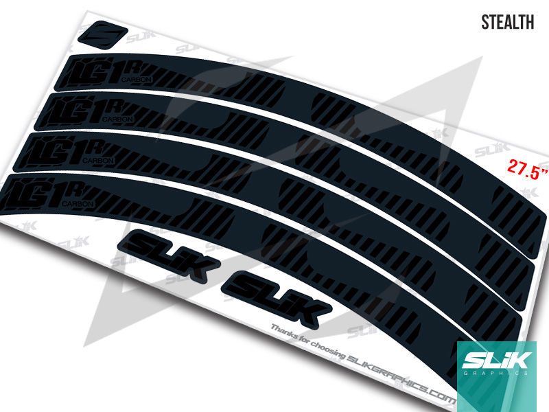 E Thirteen LG1R 2017 Rim Decal Kit - product images  of