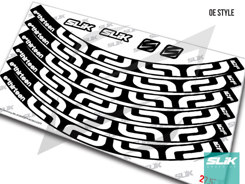 E Thirteen LG1+ Rim Decal Kit - product images  of