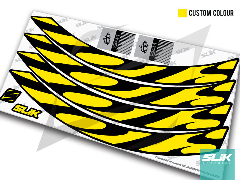 Ibis 941 Rim Decal Kit - product images  of