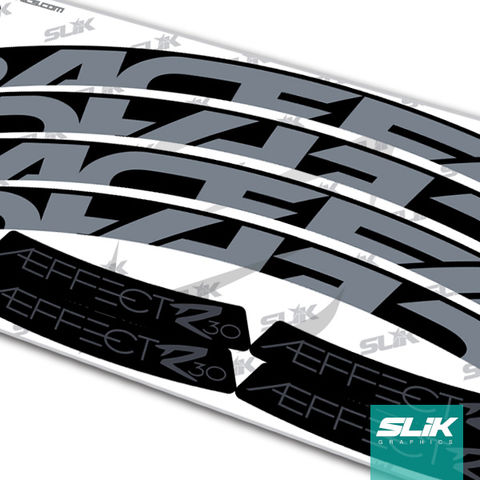 RaceFace,AEFFECT,R,30,Style,Rim,Decals,Easton, RaceFace, Race Face, AEFFECT, ARC 30, Stickers, rim decals