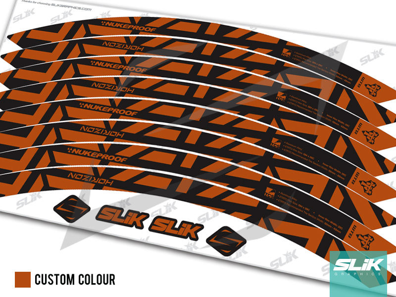 Nukeproof Horizon Rim Decal Kit - product images  of