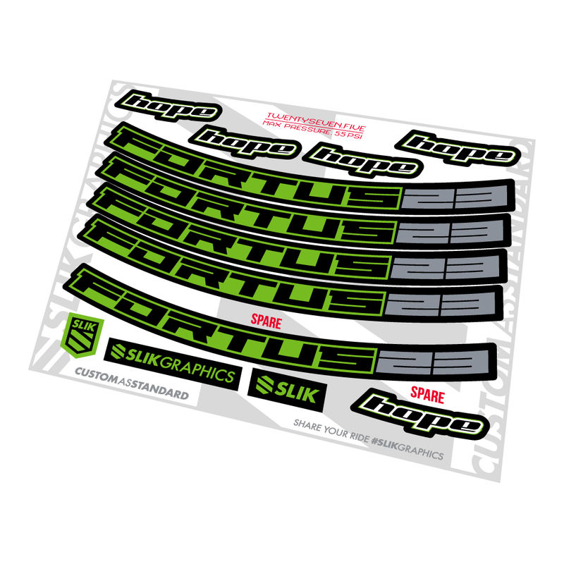 Hope Fortus 23 Decal Kit - product images  of