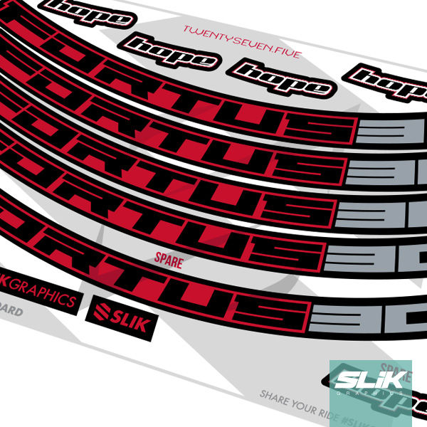 Hope Fortus 30 Decal Kit - product images  of