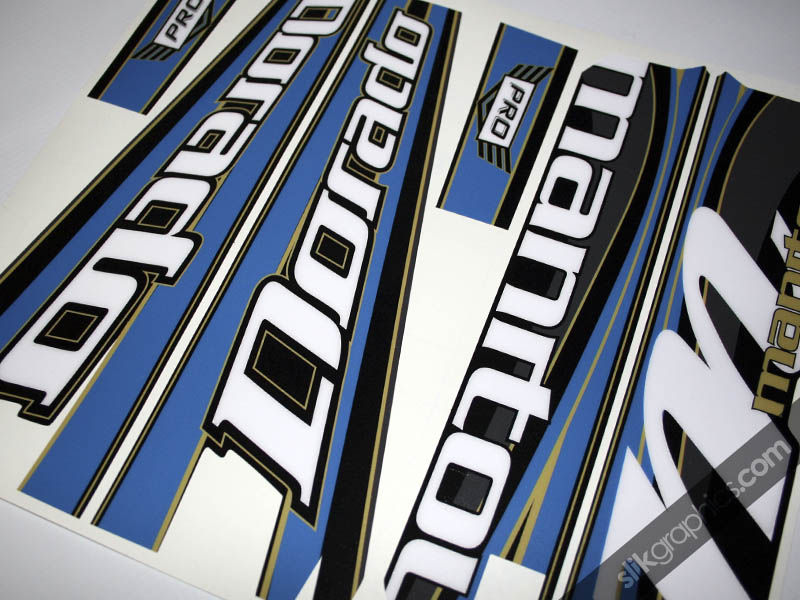 Manitou Dorado Decal Kit - product images  of