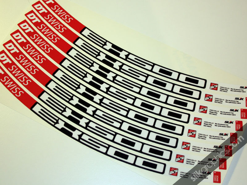 DT Swiss EX500 Style Decal Kit - product images  of