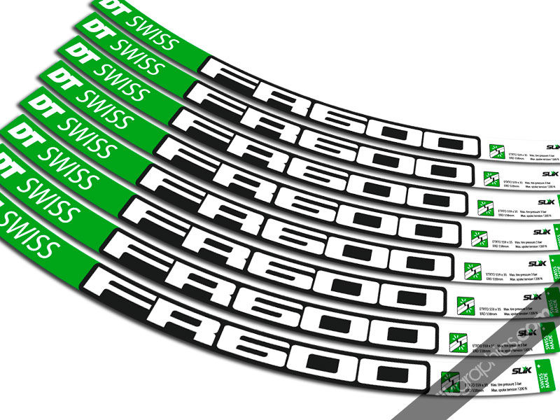 DT Swiss FR600 Style Decal Kit - product images  of