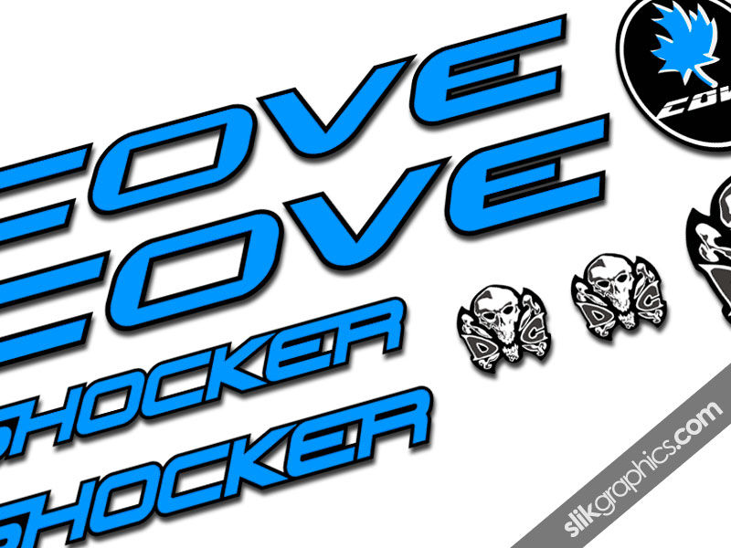 Cove Shocker Decal Kit - product images  of
