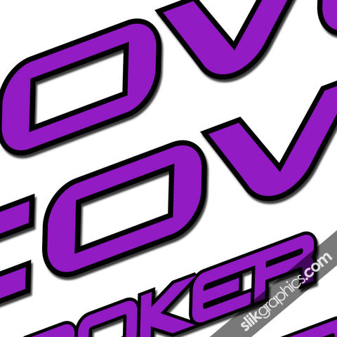 Cove,Hooker,Decal,Kit, Hooker, Decals, Stickers