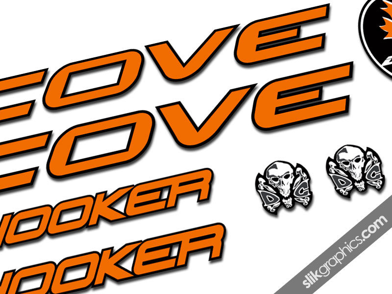 Cove Hooker Decal Kit - product images  of