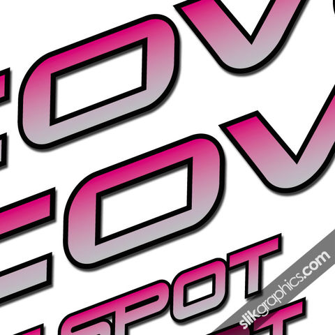 Cove,G-Spot,Decal,Kit, G-Spot, Decals, Stickers, Gspot