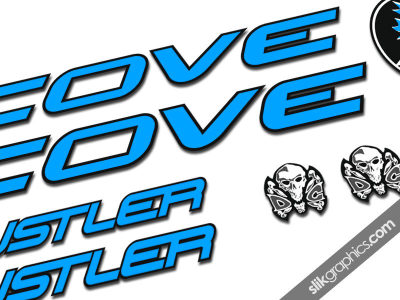 Cove Hustler Decal Kit - product images  of