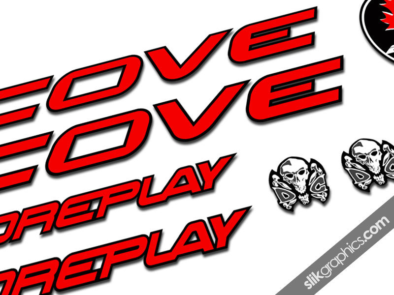 Cove Foreplay Decal Kit - product images  of