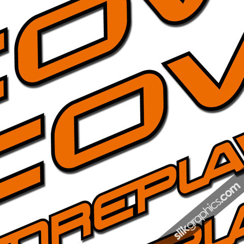 Cove,Foreplay,Decal,Kit, Foreplay, Decals, Stickers