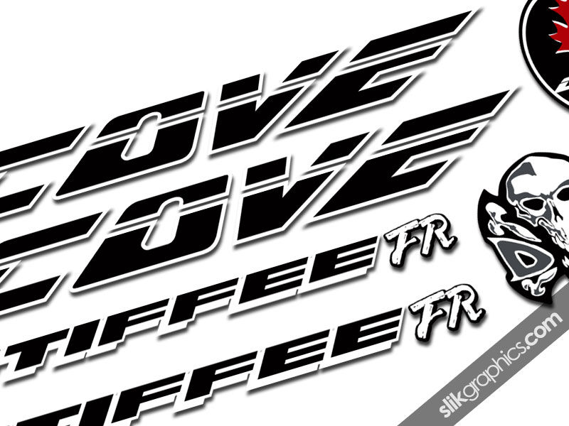 Cove Stiffee FR Decal Kit - product images  of