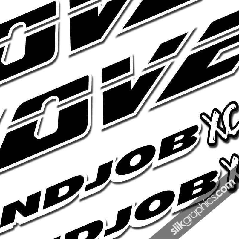 Cove Handjob XC Decal Kit - product images  of