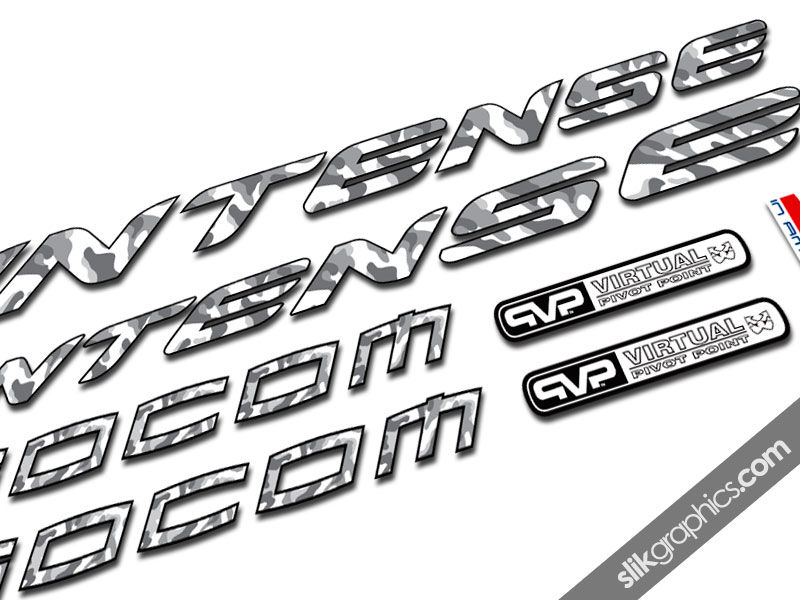 Intense Socom Classic Style Decal Kit - product images  of