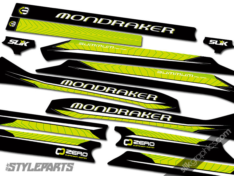 SSP Mondraker Summum Decal Kit 'Team Issue' - product images  of