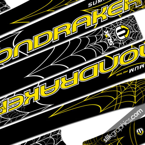 SSP,Mondraker,Summum,Decal,Kit,'Web',mondraker, summum, decal kit, frame stickers, web, spider