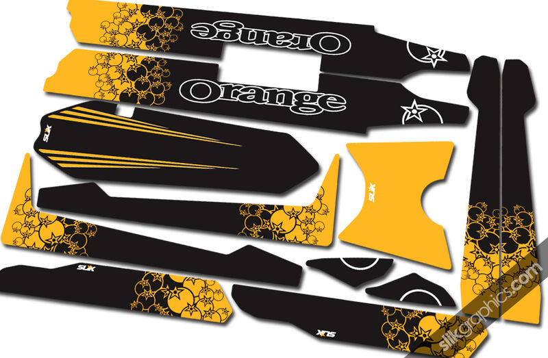 Orange Alpine 160 Decal Kit - product images  of