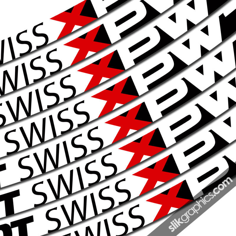 DT Swiss XPW1600 Style Decal Kit - product images  of