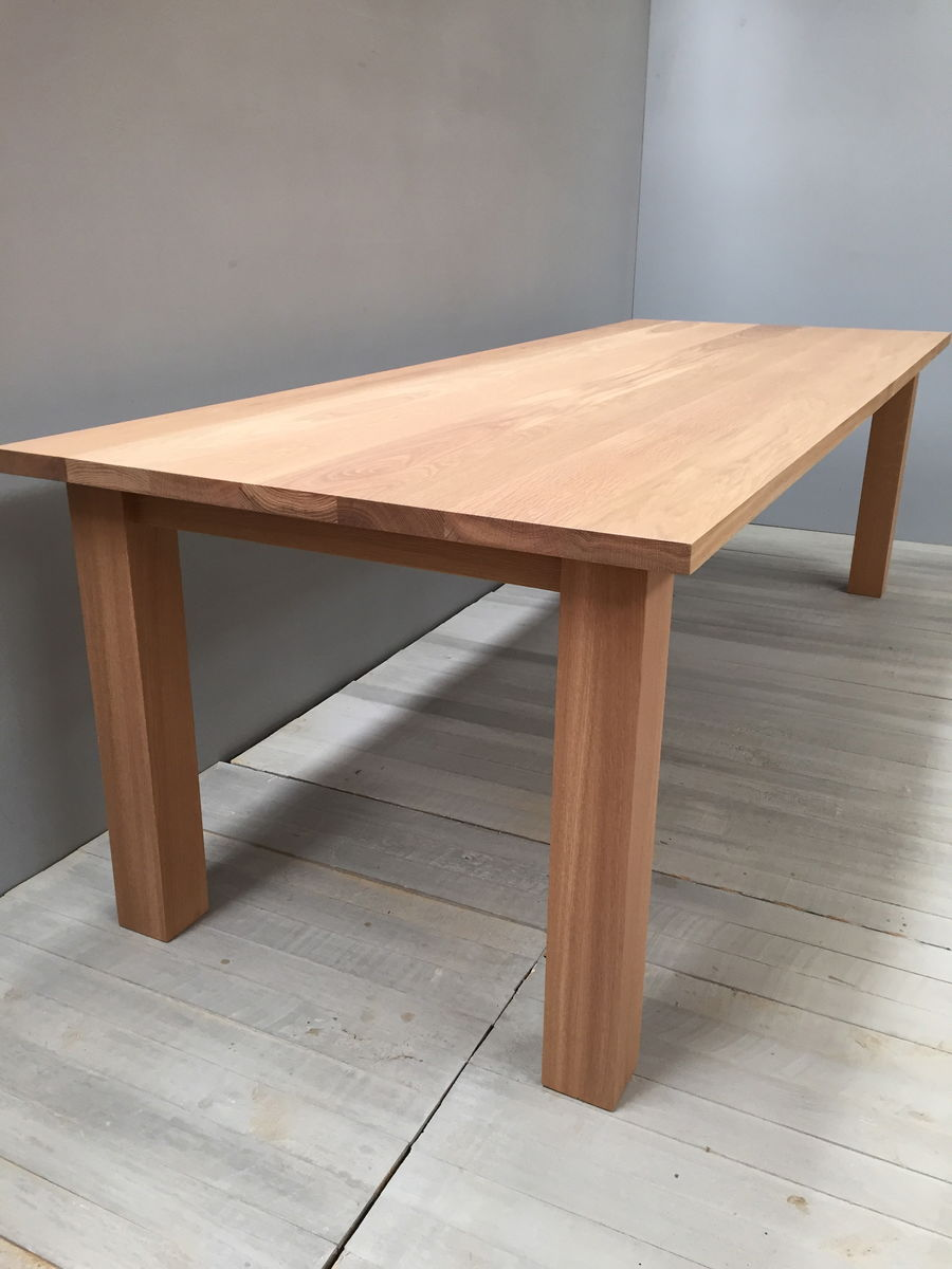 Traditional Solid Oak Dining Table   Product Images Of ...