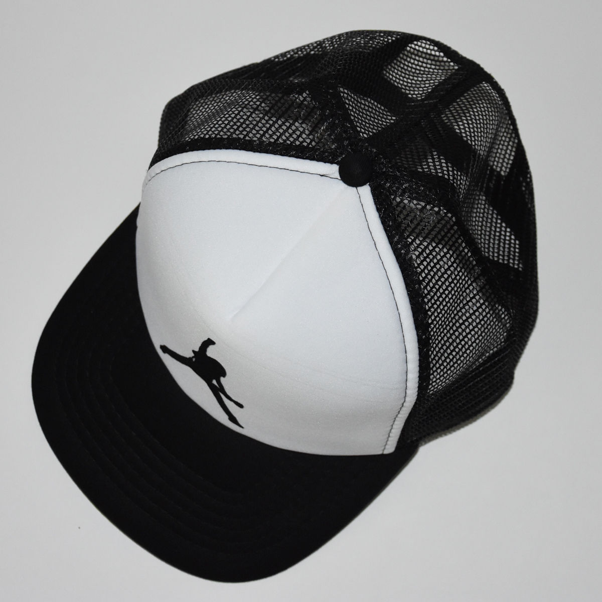 BD Logo Trucker Cap - White/Black - product images  of