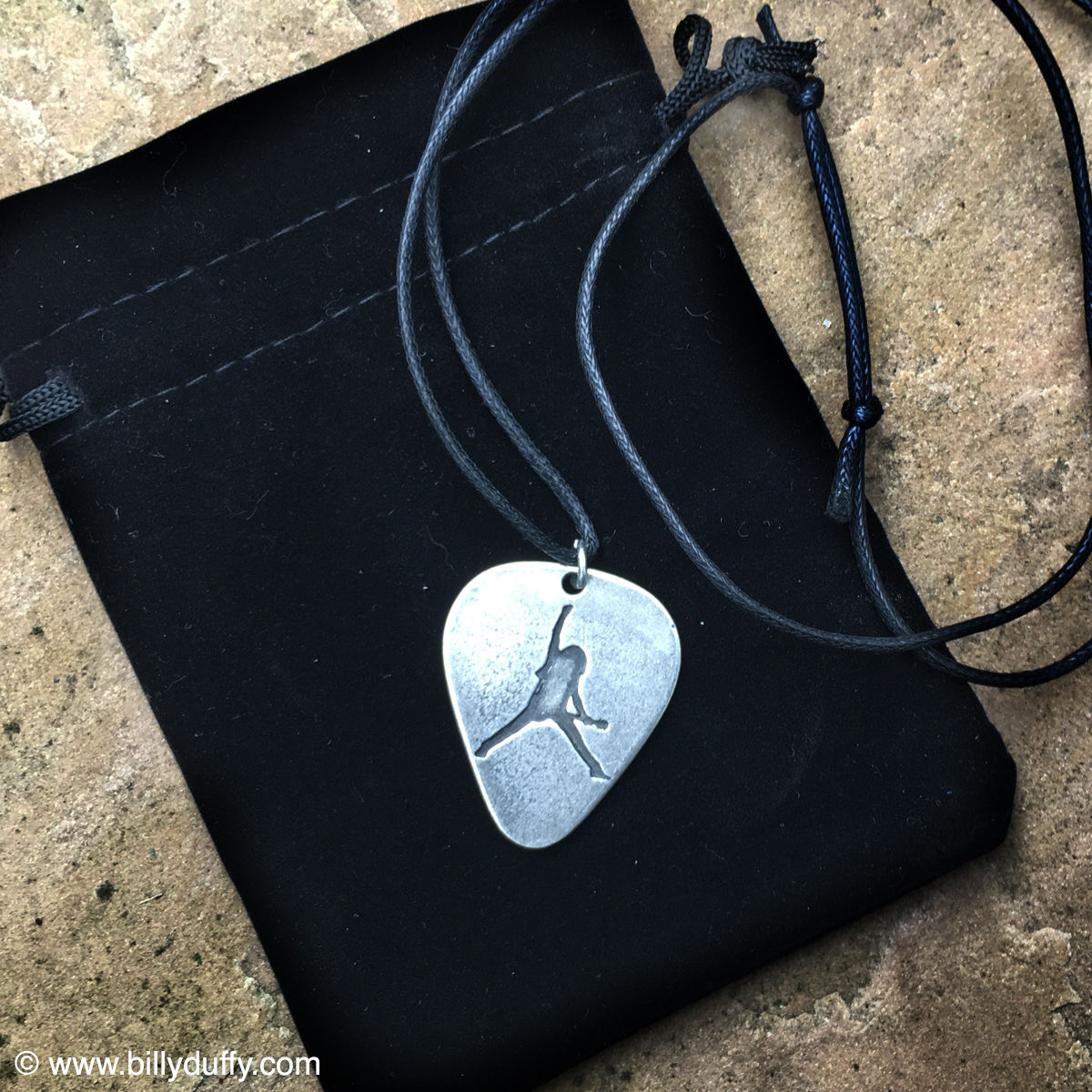BD Pewter Pick Pendant - product images  of