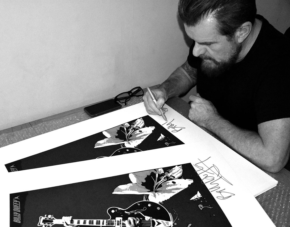 Limited Edition Signed Screenprint - BD Black Falcon - product images  of