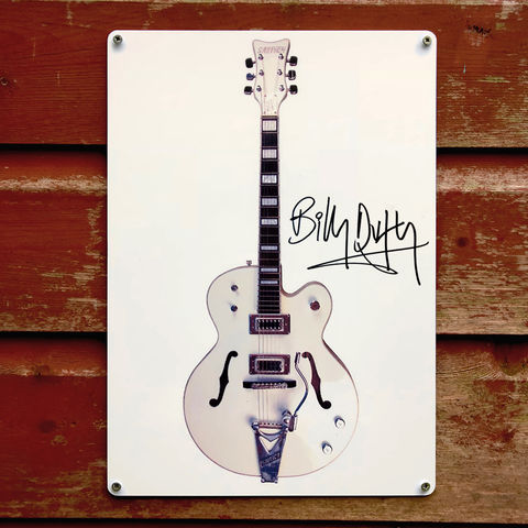 Signed,BD,White,Falcon,Metal,Sign