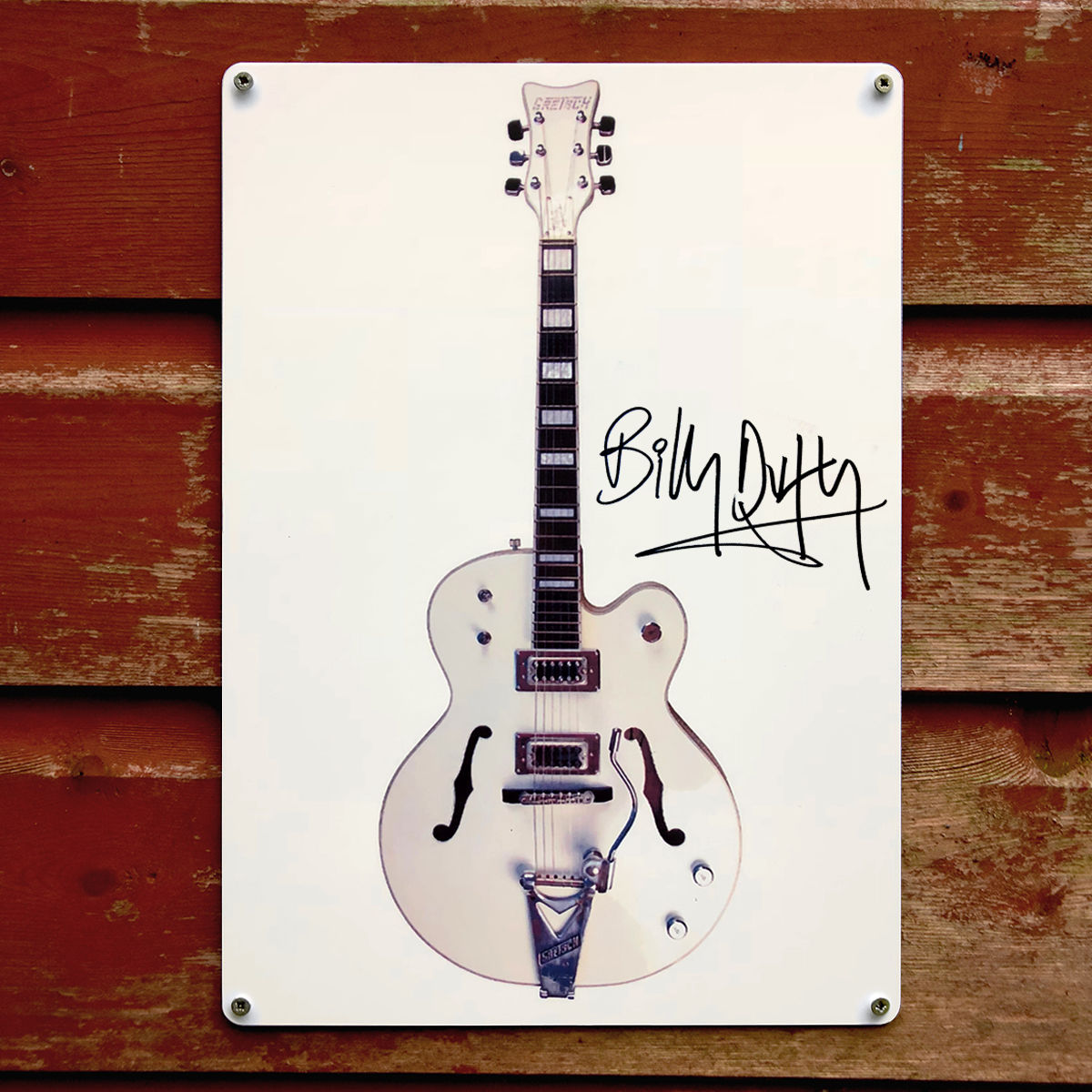 Signed BD White Falcon Metal Sign - product images  of