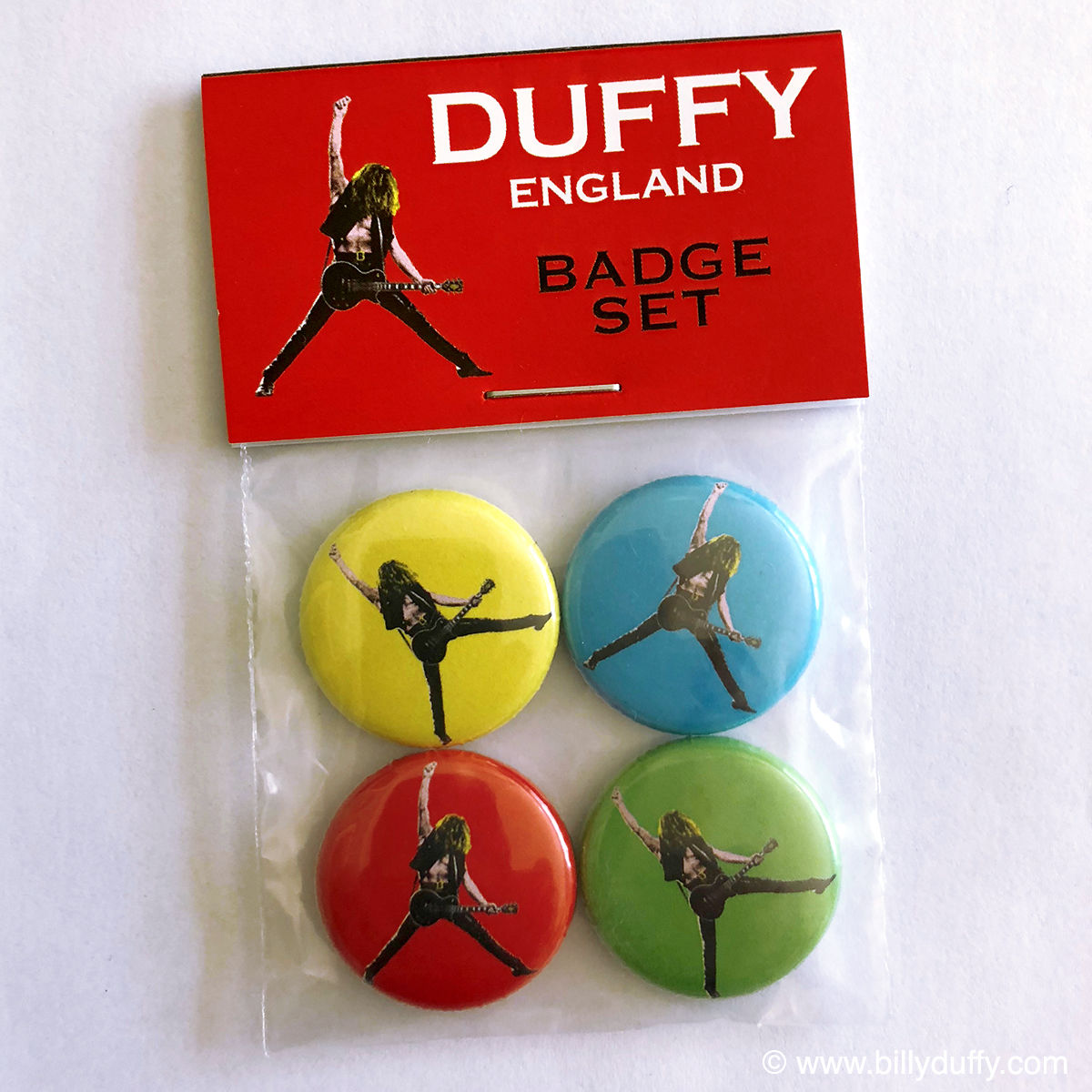 Duffy England 'Pop Art' Badge Set - product images  of