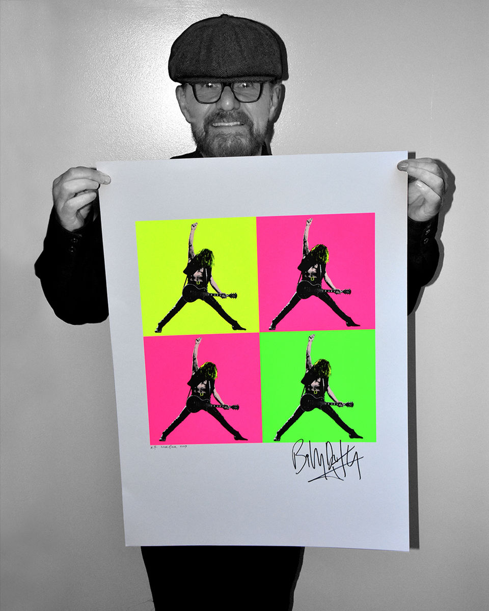 Limited Edition Signed Screenprint - Day Glo Pop Art - product images  of