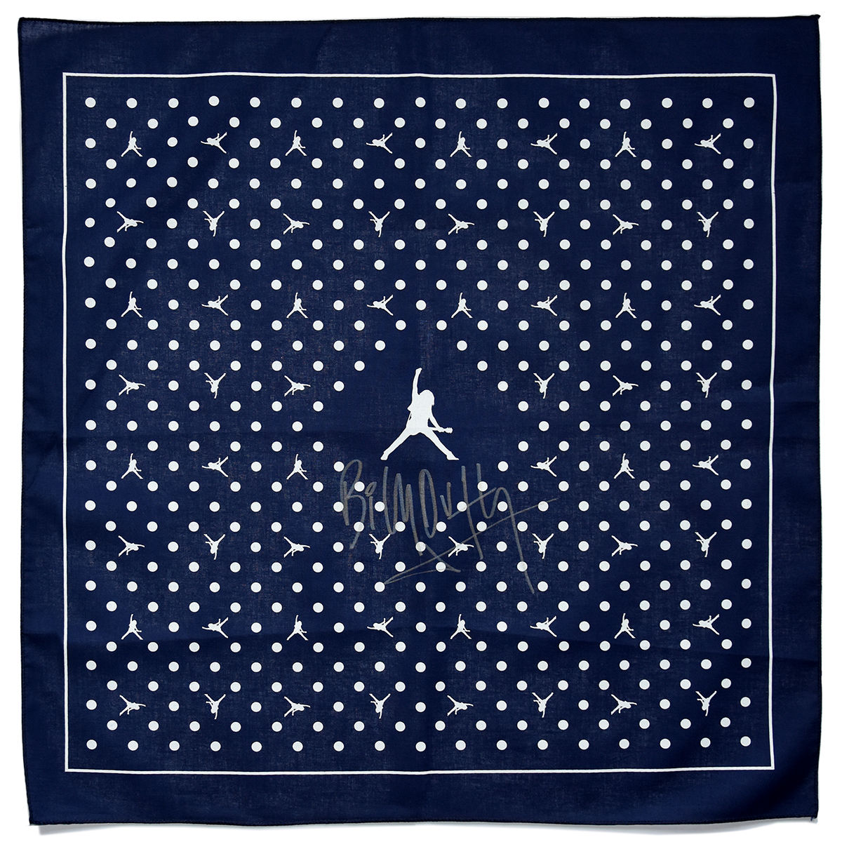 Signed BD Logo Bandana - Navy/White - product images  of