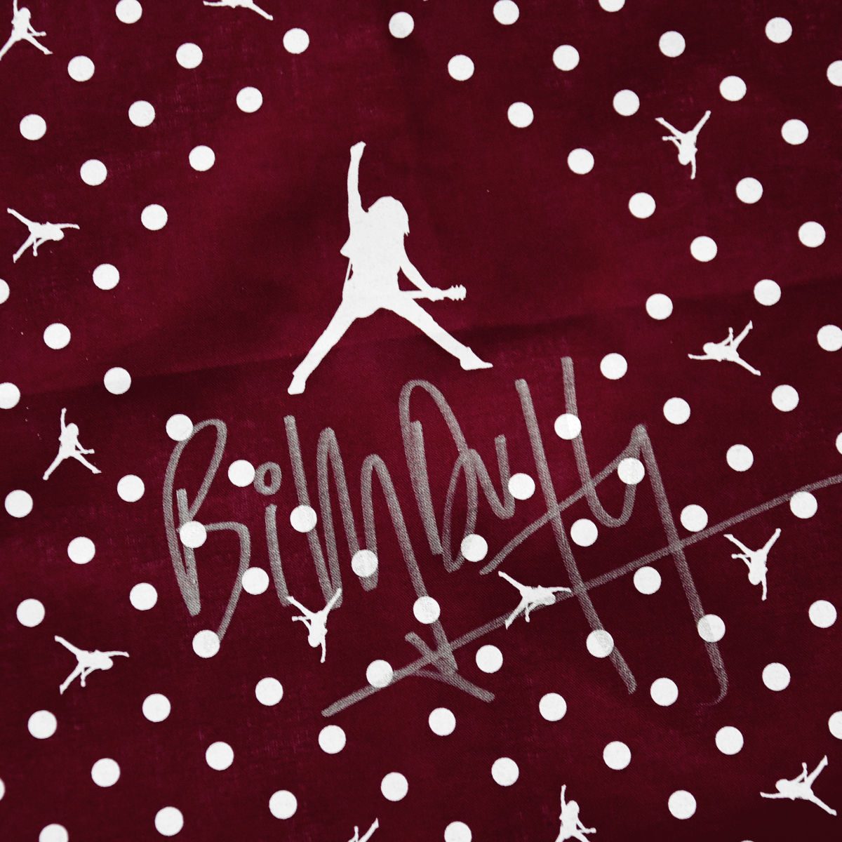 Signed BD Logo Bandana - Burgundy/White - product images  of