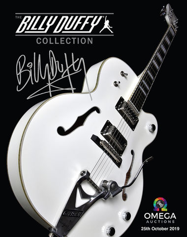 Billy,Duffy,Collection,Signed,Catalogue,Billy Duffy Signed Memorabilia Catalogue The Cult