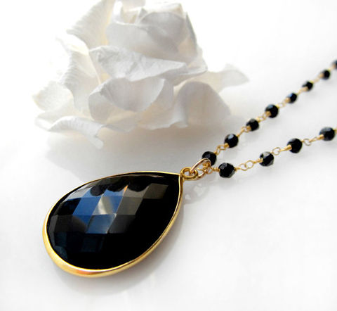 Long,Black,Onyx,Rosary,Necklace,,Jet,Black,,Gemstone,Pendant,,Spinel,,24,inches,long,,Gold,Vermeil,Jewelry,Necklace,Stone,Gold_Vermeil,Pendant_Necklace,rosary_Necklace,long__necklace,wirewrapped,Jet_Black,black_spinel,Black_Onyx_Rosary,black_onyx_jewelry,black_gemstone,black_onyx_pendant,24_inches_long,bygerene,gold filled,24k gold vermeil,black onyx,b