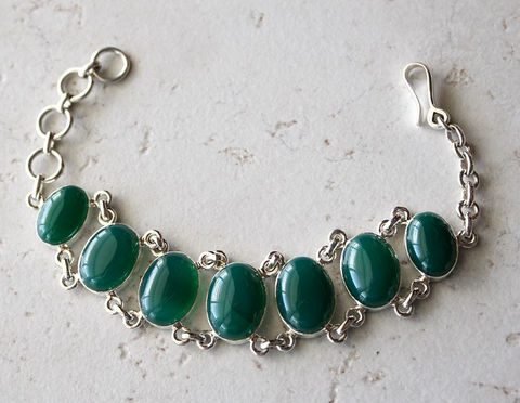 Green,Onyx,Stone,Bracelet,,925,Sterling,Silver,Chunky,Jewelry,,Oval,Jewelry,Bracelet,statement_jewelry,925_sterling_silver,chunky_bracelet,gemstone_bracelet,large_stone,large_band,Stone_Bracelet,Sterling_bracelet,silver_bracelet,Green_Onyx,Oval_Stone,bygerene,Green_stone_bracelet,925 Sterling Silver,Green Onyx