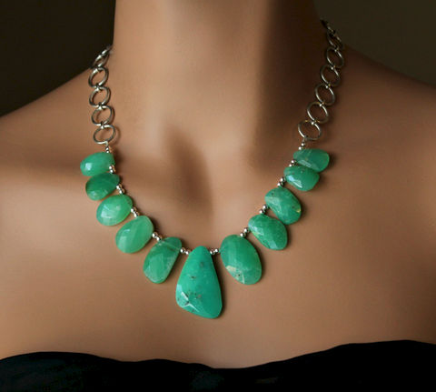 Raw,Green,Chrysoprase,Bib,Necklace,,Statement,Brazilian,Chrysoprase,,Large,Stone,925,Sterling,Silver,Chain,,OOAK,Jewelry,Necklace,Statement_Necklace,Large_Stone_Necklace,Bib_Necklace,Raw_cHRYSPRASE,Green_Chrysoprase,925_Sterling_Silver,Brazil_Chrysoprase,Genuine_Chrysoprase,Chrisoprase,Green_Raw_Stone,Chunky_Necklace,bygerene,Green Chrysoprase,925 Sterling