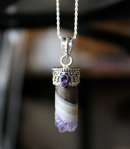 Raw,Amethyst,Pendant,Necklace,,Druzy,,925,Sterling,Silver,,Geode,Boho,Healing,Pendant,,Round,Cylinder,Jewelry,Necklace,Amethyst_Jewelry,Amethyst_Tube,amethyst_necklace,Amethyst_Druzy,925_Sterling_Silver,Geode_Necklace,Boho_Necklace,Healing_Pendant,Round_Cylinder,Raw_Amethyst_Pendant,purple_stone,bygerene,stalactite,amethyst druzy,925 sterling silver