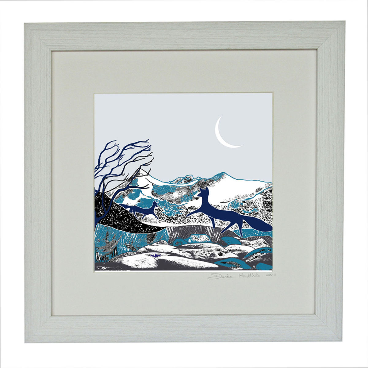 WINTER FOXES - Limited Edition Giclee Print - product images  of