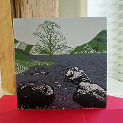 By,the,Water,(green),-,pack,of,4,greetings,cards,Greetings cards, by the water, green, cuckoo tree, Isle of Skye, Denise Huddleston, Cuckoo Tree Studio, Greetings Cards