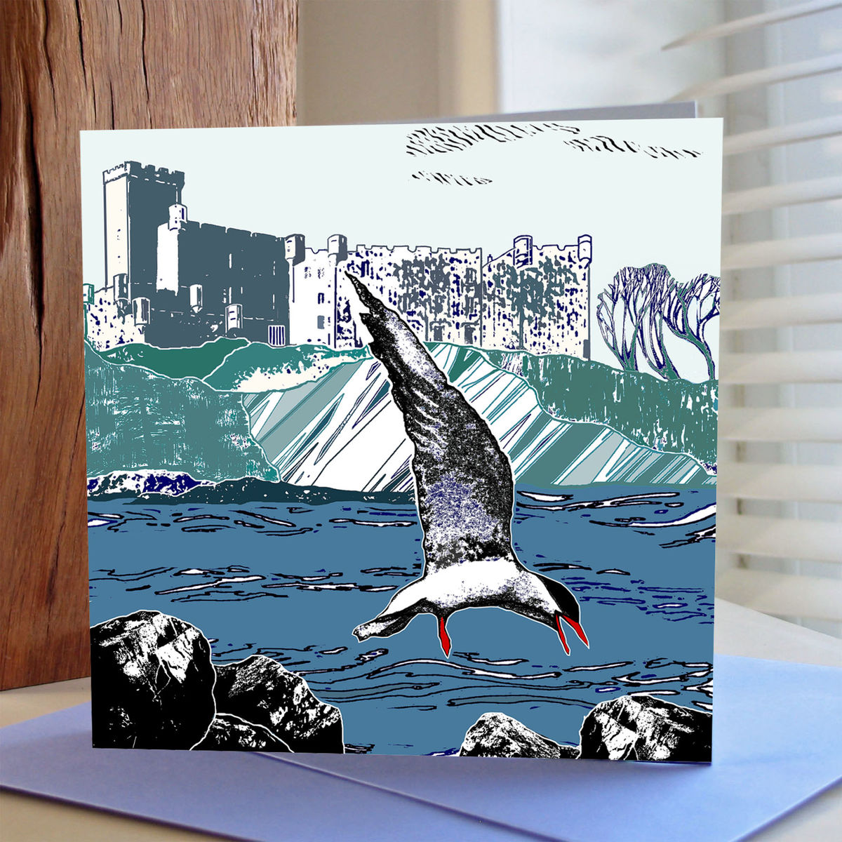 Tern, Tern - pack of 4 greetings cards - product image