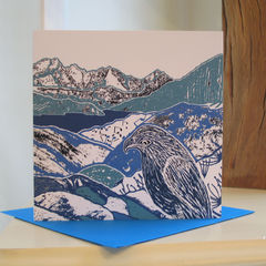 Watching,Waiting,-,pack,of,4,greetings,cards,Greetings cards, Watching Waiting, Isle of Skye, Seal, Denise Huddleston, Cuckoo Tree Studio, Greetings Cards, Coastal