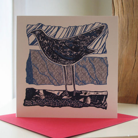 Vintage,Bird,-,pack,of,4,greetings,cards,Greetings cards, Vintage Bird, cuckoo tree, Isle of Skye, Denise Huddleston, Cuckoo Tree Studio, Greetings Cards