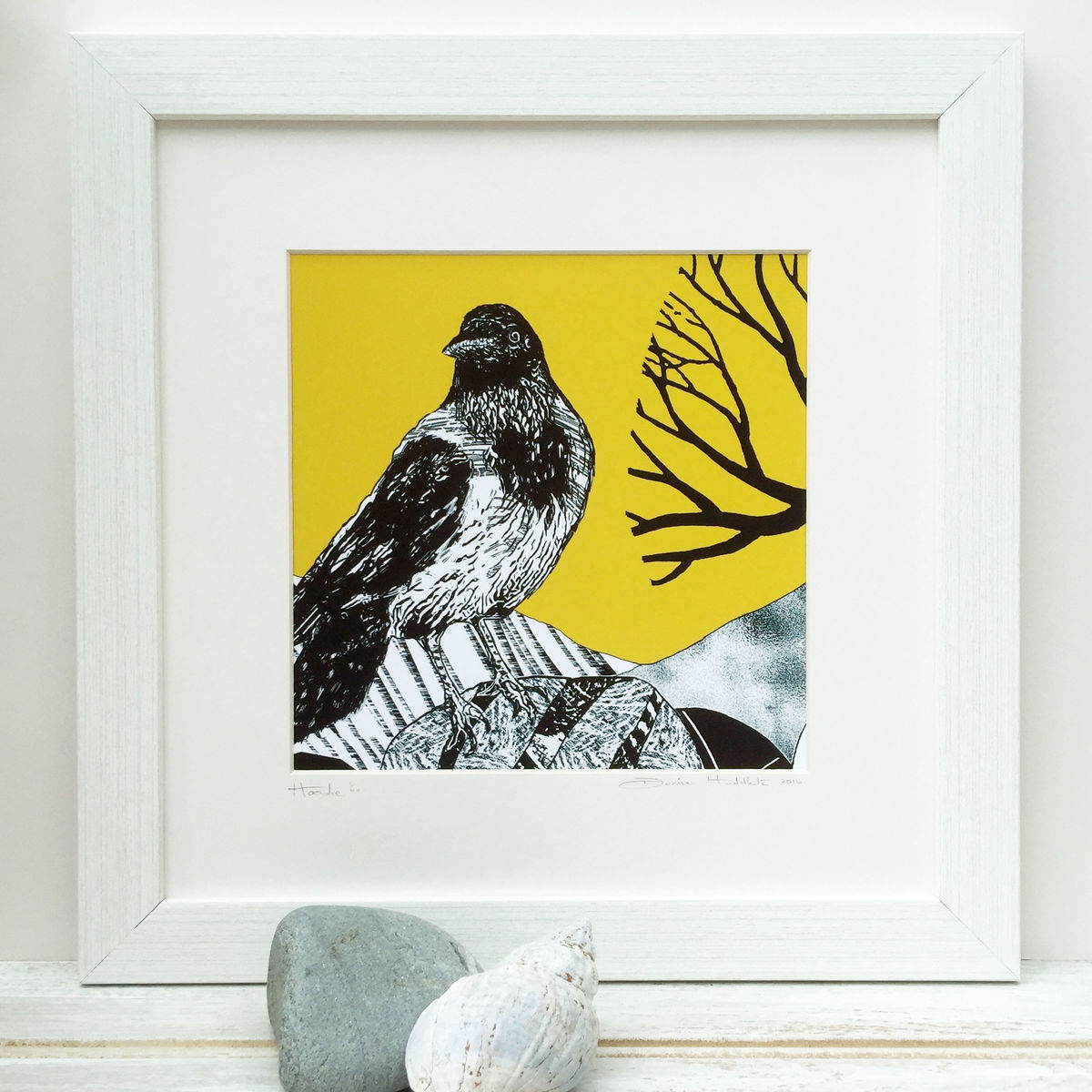 HIGHLAND HOODIE - Limited Edition Giclee Print  - product images  of