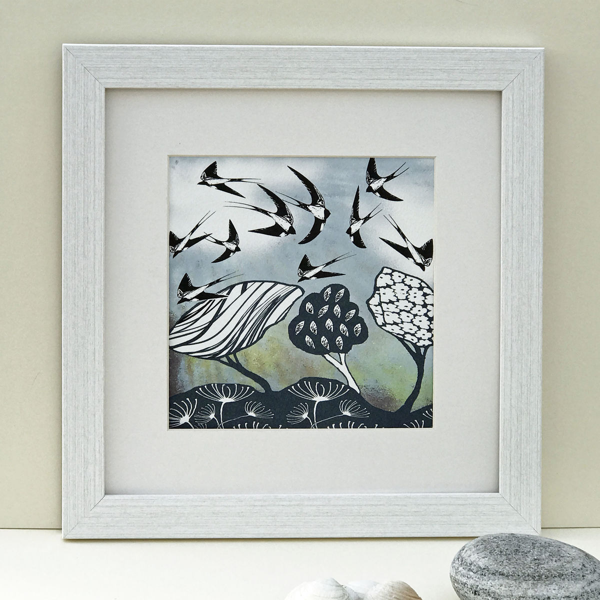 SWALLOWS - Limited Edition Giclee Print - product images  of