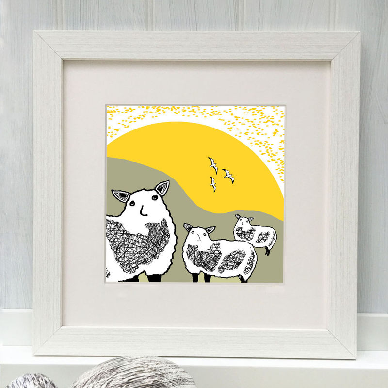 SPRING FLOCK - Limited Edition Giclee Print - product images  of